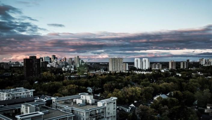 Edmonton Cityscape