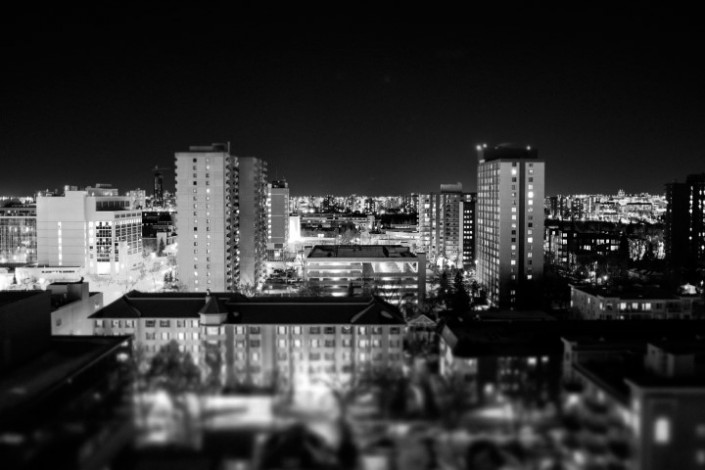 Edmonton Tilt Shift