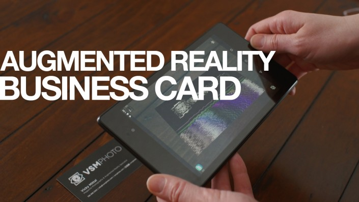 AR Business Card Portfolio