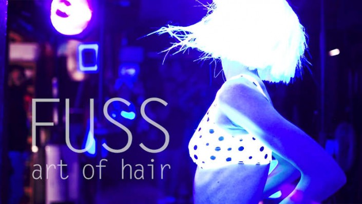 Fashion video of fuss hair salon